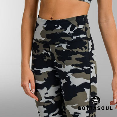 yoga camo leggings