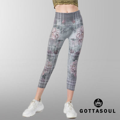 floral leggings workout