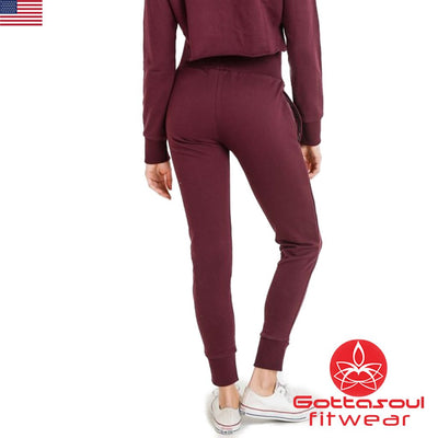womens fitted joggers