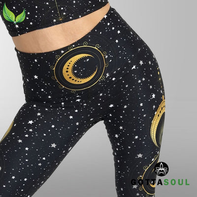 Fortune Teller Highwaist Yoga Leggings