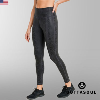 Black Mamba Highwaist Leggings