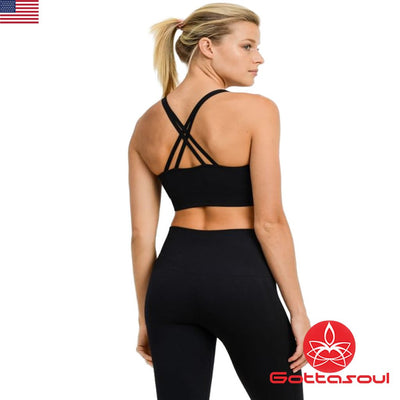 sport bra with support