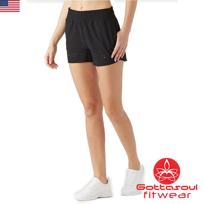 women's shorts with elastic waistband