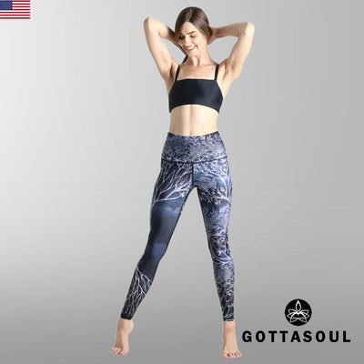 yoga leggings print
