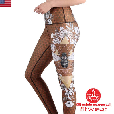 recycled fabric leggings