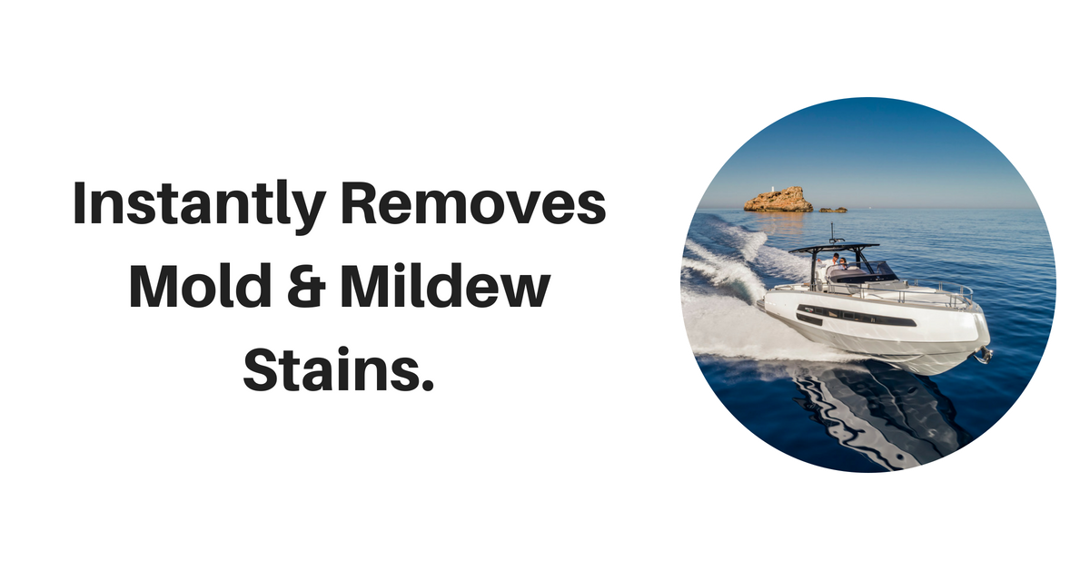Removes Mildew On Boats