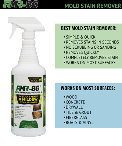 Instant Mold Stain Remover benefits