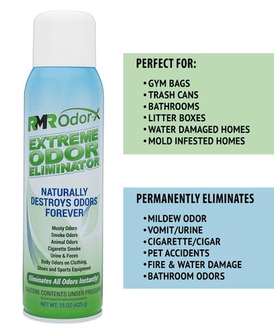 Where to get rid of bad odors with RMR Odor-X Odor Eliminator