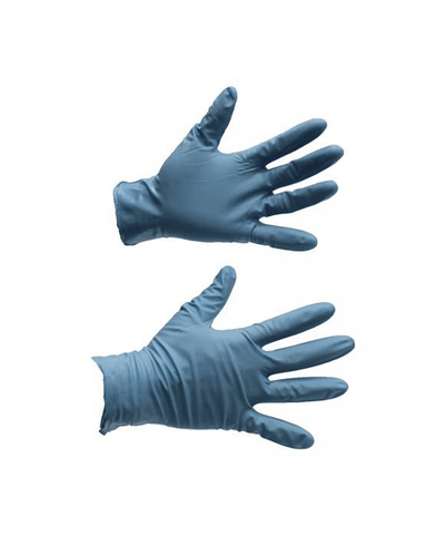 Nitrile Gloves, 8-Mil, Powder-Free, Blue (50 PK)