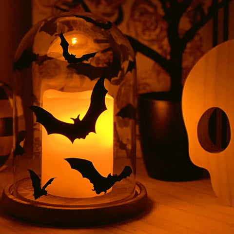Batty DIY Vinyl Halloween Decorations