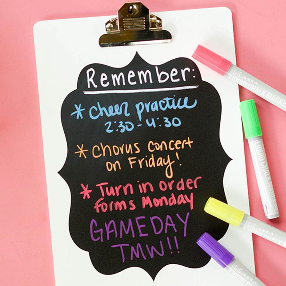 Creating An Easy Chalkboard Reminder