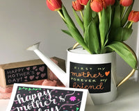 DIY Chalkboard Mother's Day Card