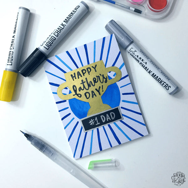 DIY Father's Day Card Tutorial