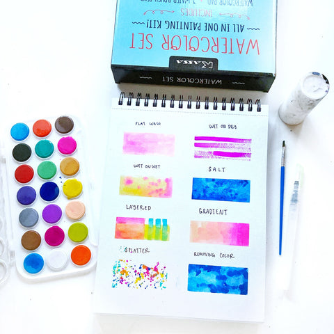 Easy Techniques To Improve Your Watercoloring