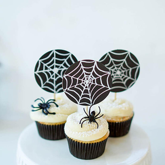 Halloween Decor Idea: Chalkboard Cupcake Toppers