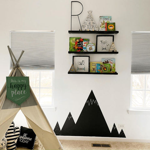 Kids Room Chalkboard Wall Idea