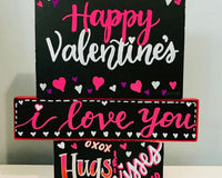 Personalized Valentine's Day Chalkboard
