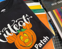 Pumpkin Shirt Design with Kassa Heat Transfer Vinyl