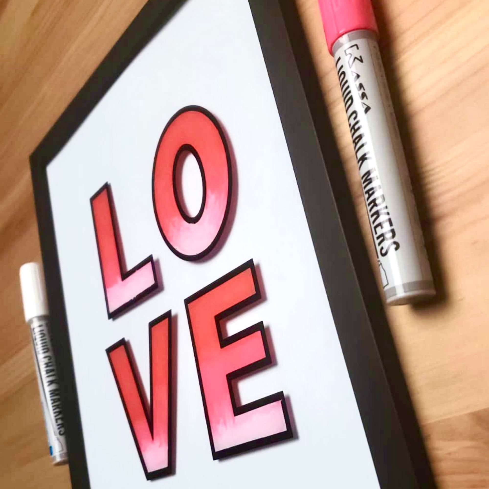 Valentine's Day DIY Frame Decoration