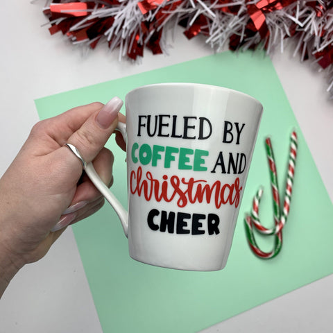 Vinyl Christmas Coffee Cup