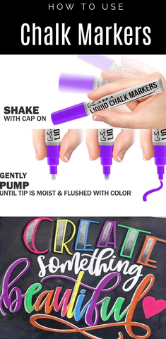 how to use Kassa chalk markers and how to make the most out of your chalk pens