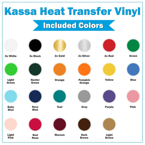 Heat Transfer Vinyl Sheets