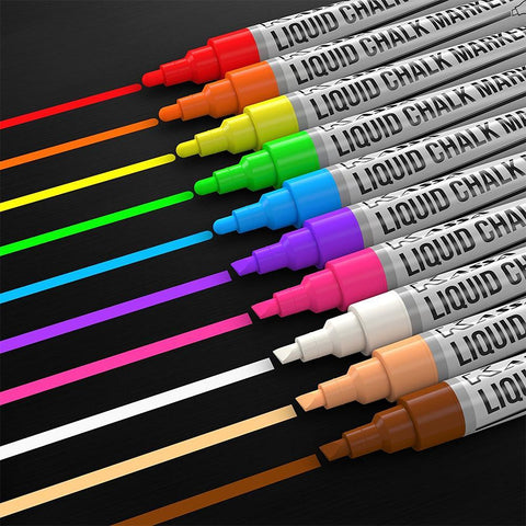Liquid Chalk Markers (10 Pack)