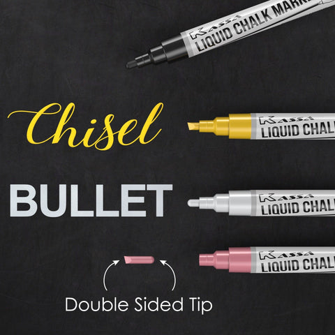 Metallic Chalk Markers (4 Pack)