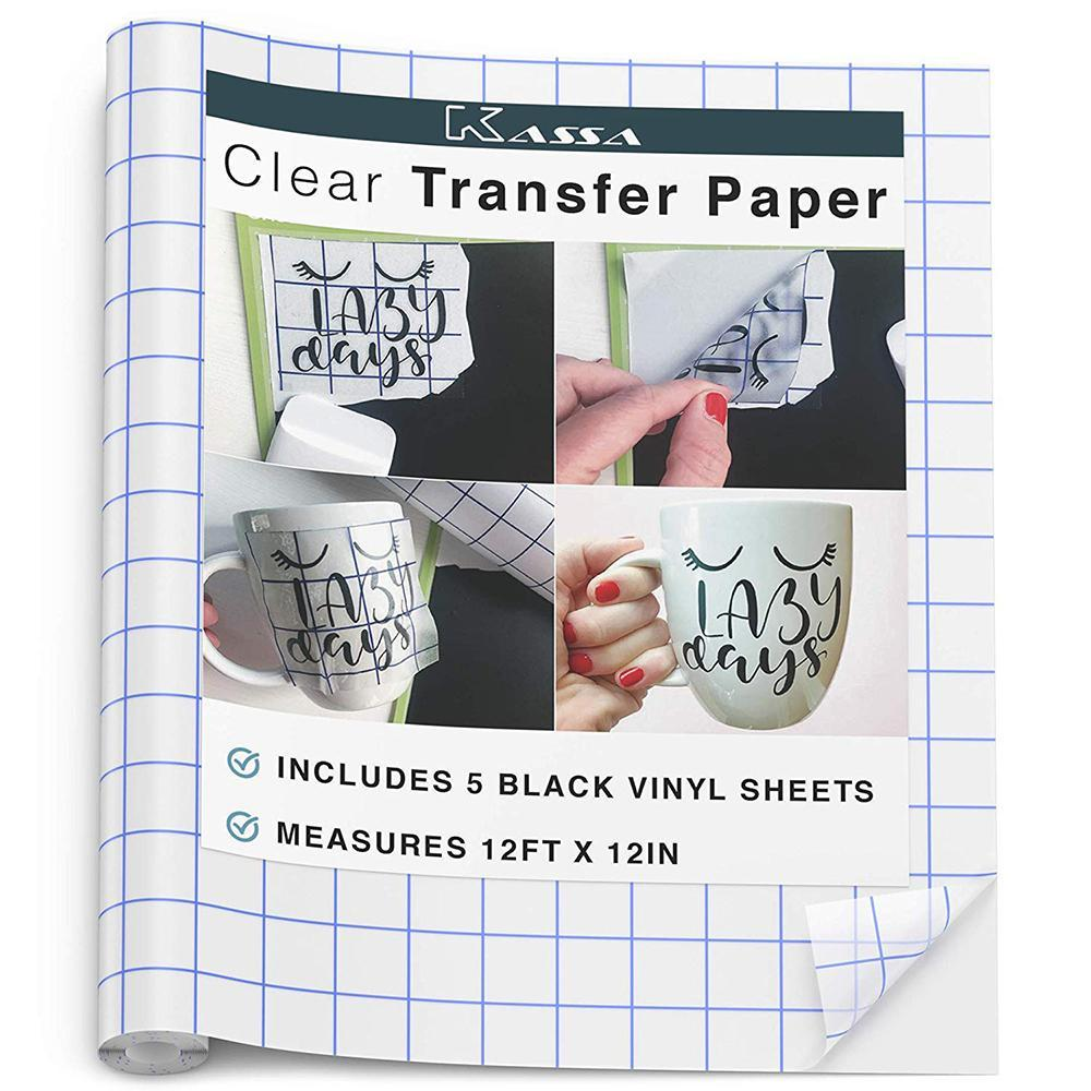 Transfer Tape & Vinyl Sheets - Kassa
