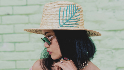 Nanphanita On A Saving Spree: Finding Summer Hats At San Diego Hat Company & How To Style Them
