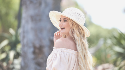 Eva Catherine - Summer Hat Trends with San Diego Hat Company