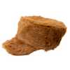 Faux fur cadet with stud detail on the brim (CTH8130)-CAP-San Diego Hat Company