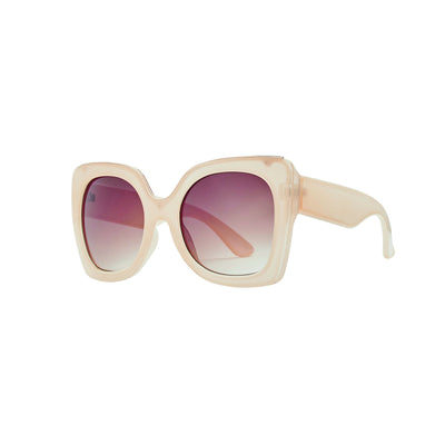 Oversized Sunglass With Brown Tint (BSG1086)