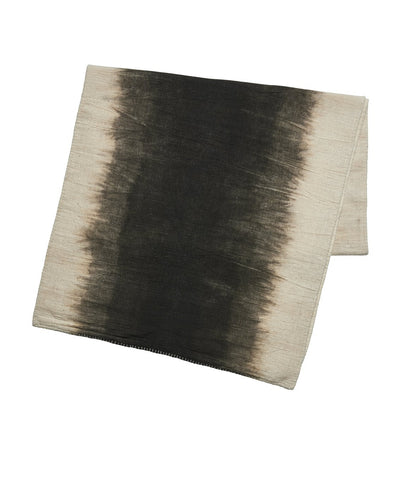 Ombre plant dyed cotton table runner (BSH1085)