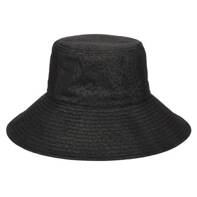 Women's Wide Brim Bucket with Tonal Animal Patter (CTH1801)