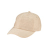 Women's Linen Ball Cap w/ Silver Closure (CTH2703)