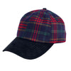 Men's Plaid & Corduroy Ball Cap (CTH3726)