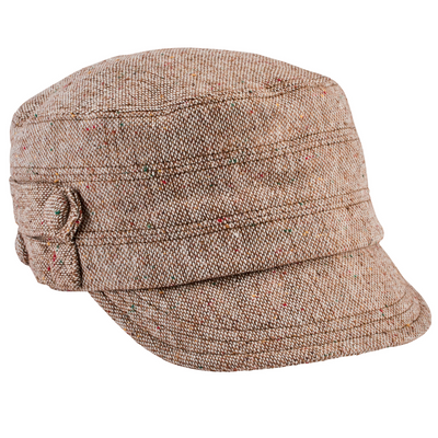 Hats - Women's Speckled Tweed Cap