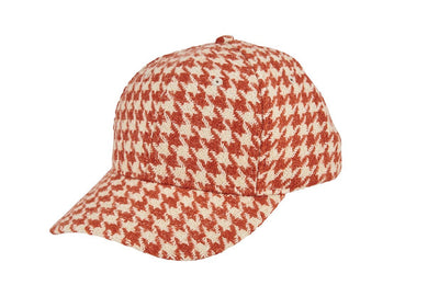 Women's houndstooth ball cap (CTH8171)