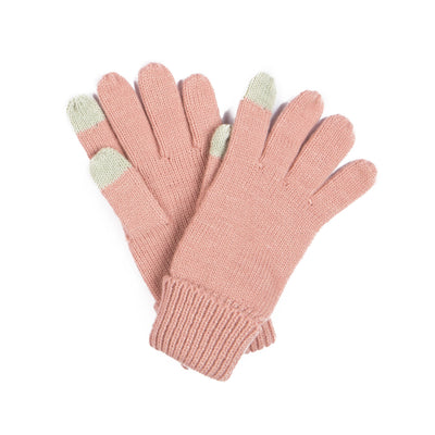 Women's Blush Knit Glove with Tech Finger (KNG2037)