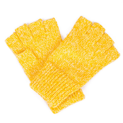 Women's Marled Knit Fingerless Glove (KNG2038)-GLOVES-San Diego Hat Company