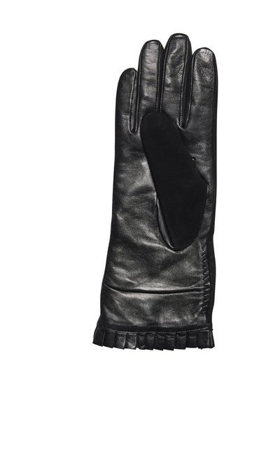 WOMEN'S SHEEP LEATHER GLOVE SWEATERKNIT LINING (KNG3607)-GLOVES-San Diego Hat Company