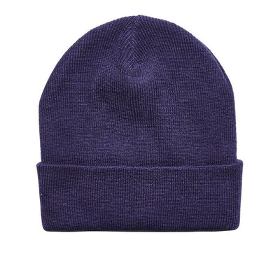 WOMEN'S MACHINE KNIT CUFFED BEANIE (KNH2012)