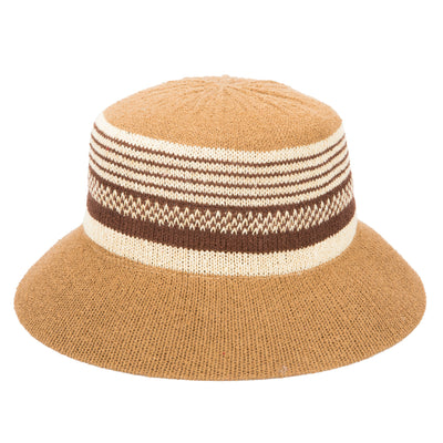 Women's Knit Stripe Bucket (KNH2029)