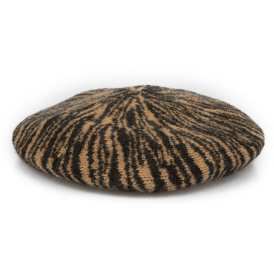 Women's Tiger Pattern Beret (KNH2049)