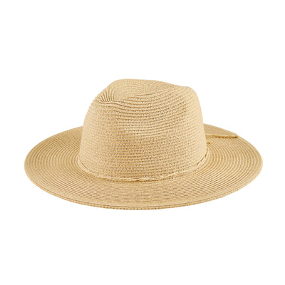 Women's Water Repellent Fedora W/ Tie (UBF1119)