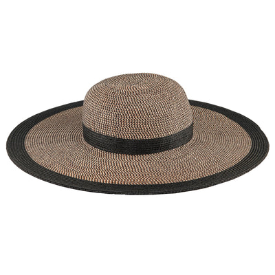 Women's Water Repellent Striped Floppy (UBL6825)-SUN BRIM-San Diego Hat Company