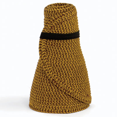 San Diego Hat Company's Signature Women's Ultrabraid Large Brim Visor in Honey