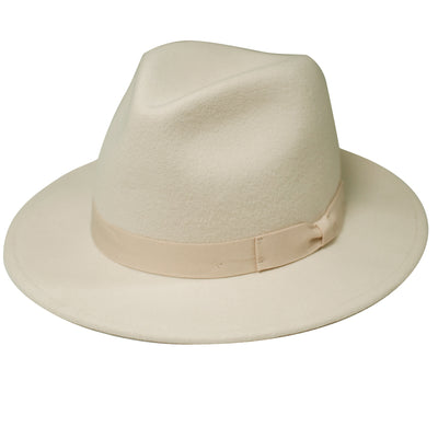 Women's Fedora With Bow (WFH8039)