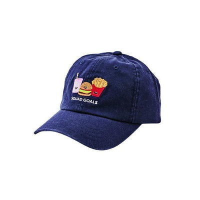 3-7 Year Squad Goals Dad Cap (CTK4266)